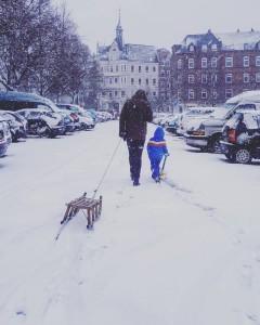 Dem Kieler Schnee auf der Spur    kielamnilhellip